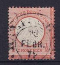 Brustschild Mi Nr. 3 mit Hufeisenstempel Hamburg Feb. 1872, Deutsches Reich