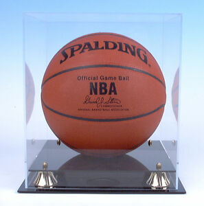 Basketball Display Case made 100% UV  Protection Acrylic NBA NCAA