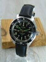 Vostok Amphibia michanical vintage Soviet Era mens wristwatch USSR
