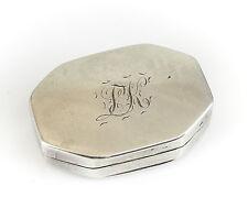 Joseph Willmore George III Birmingham Sterling Silver Vinaigrette Box, c1820