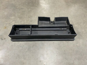 2017-2020 FORD F250 F350 2ND ROW UNDER REAR SEAT STORAGE CARGO TRAY CREW CAB