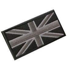 FASHION Union Jack UK Flag Badge Patch Stick Back 10cm x 5cm NEW L2V6