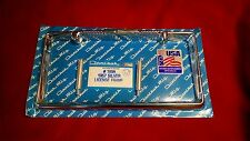 1957 57  CHEVY CHEVROLET CHROME LICENSE PLATE FRAME, NEW REPRO, USA