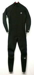 BILLABONG Men's 5/4 FURNACE ABSOLUTE BZ Wetsuit - BLK - Small - NWT - LAST ONE