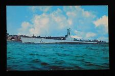 1950s Submarine USS Corsair Electric Boat Company Groton Scrapped New London CT