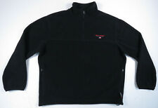 Vintage 90s Ralph Lauren Polo Sport Polartec Spell Out 1/4 Zip Fleece Jacket XL