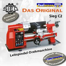 Metalldrehmaschine Drehbank C2/300 Sieg Drehbank mit Vorschub Gewindesschneiden
