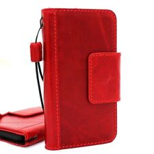 Genuine cow leather case for Samsung Galaxy S9 Magnetic Card slots holder slim