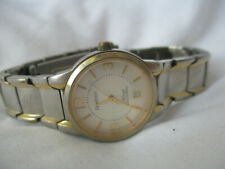 Armitron Gold & Silver Toned Wristwatch WORKING!