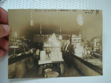 PHOTO ~ GROCER ~ STORE IN MISSOURI ~ CIVIL WAR VET ~ CATS ON COUNTER ~ ARGO