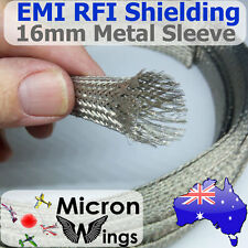 16mm EMI RFI Shielding Expandable Metal Braided Tinned Copper Cable Sleeving