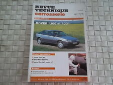REVUE TECHNIQUE CARROSSERIE ROVER 200 ET 400 DEPUIS 1990