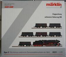 Märklin Spur Z, 81371, Zugpackung, Schwerer Güterzug der DB, neuwertig in OVP