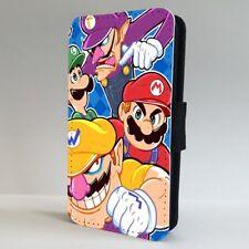 Super Mario 90s Teléfono Abatible De Juego De Nintendo Estuche Cubierta para IPHONE SAMSUNG