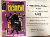 Star Wars Return Of The Jedi (1983) # 1 (VF/NM) Canadian Price Variant ( CPV)