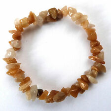 **BEAUTIFUL MIXED SHADES OF CALCITE CRYSTAL CHIP BRACELET - HEALING / REIKI**