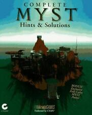 Complete Myst Hints and Solutions (Brady Games) BradyGames Paperback