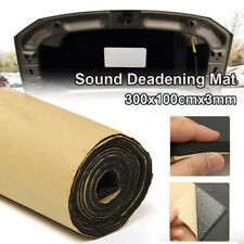 3mm 118''×40'' Sound Proofing Deadening Mat Heat Insulation Noise Material NEW