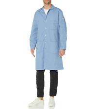 Bulwark Men'S Fr Lab Coat Light Blue Medium Regular M-Rg Protective Smock New