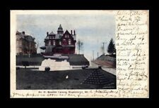 DR JIM STAMPS US SPANISH CANNON HAGERSTOWN MARYLAND VWHITE BRODER POSTCARD