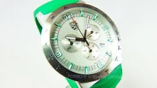 Porsche Men' Sport Classic Chronograph Watch Green Edition Porsche Crest