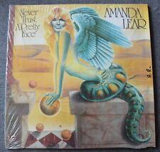 Amanda Lear - never trust a pretty face, LP - 33 Tours