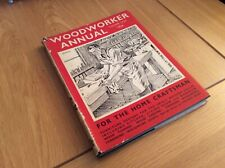 Woodworker Annual. 1954. For The Home Craftsman. Hardback.
