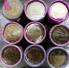 9 x 2 Euro Set4 Andorra Malta Zypern Portugal 2011 2015 aus Rolle keine doppelt