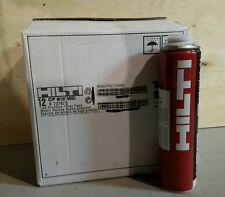 12 Cans Hilti CF812WD Window and Door Foam New Stock ( best price on eBay)