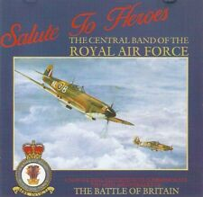The Central Band Of The Royal Air Force - Salute To Heroes (CD 1990)