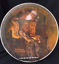 "Christmas 1978 Norman Rockwell Collectable Plate - ""Christmas Dream"""