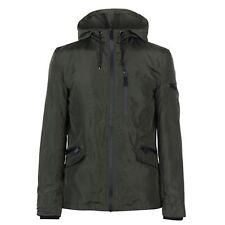 Firetrap Lightweight Rain Jacket Men's Khaki Size Medium VR39 04