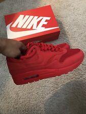 Nike Air Max 1 Premium Tonal Red 875844-600 Sz 9