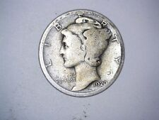 Old Original 1920 San Francisco Mint United States Silver Mercury Dime Coin