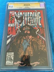 Wolverine #66 - Marvel - CGC SS 9.6 NM+ - Signed/Sketch by Mark Texeira