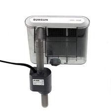 SUNSUN HBL-302 90GPH Aquarium Fish Tank Hang On Back Power Slim Filter Pump