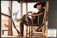 EVEREST HITCH!!! Viggo Mortensen Signed APPALOOSA 11x14 Photo #3 Beckett BAS