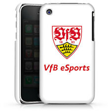 Apple iPhone 3Gs Premium Case Cover - VfB eSports weiss