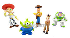 Toy Story 3 Woody Buzz Lightyear Jessie Bullseye Alien 5 Figures Set Cake Topper