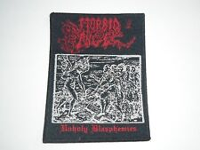 Morbid Angel Unholy Blasphemies Woven Patch