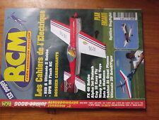 $$3 Revue RCM N°303 Plan encarte Spitfire  FX 40  carburants  Alpha Jet  Cap 10