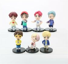 7pcs BTS Figures PVC Mini Doll Toy Model Gift Full Set
