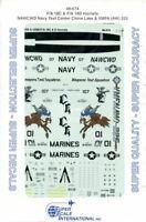 SuperScale Decals 1:48 F/A 18C/D Hornets NAWCWD Navy Test Center #48-674