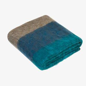 "Extra Soft High Quality Yak Wool Travel Blanket  Throw Handwoven Nepal 48"" x 96"""