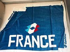 3440 LOTTO FRANCIA TELO SPUGNA MARE BEACH TOWEL ASCIUGAMANO PISCINA 140x70