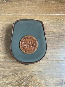 Vintage J W Young Centrepin Reel Case