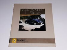 Renault Vel Satis prospekt/brochure/folder 2005