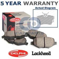 Heck Delphi Lockheed Bremsbeläge für Nissan Opel Renault Opel VW LP1745