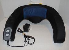 Homedics Neck & Shoulder Massager Vibrator Heat Variable Speeds NMSQ-100