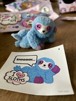TOPPS I Love Sloths Figures Sweet Scented Figures 1 Sloth & 1 Sticker Bluey